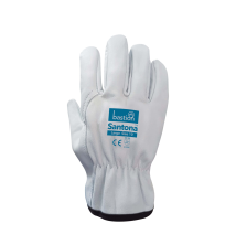 Santona - Cow Grain Natural Leather Riggers Gloves