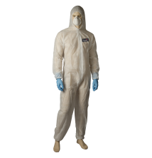 SMS Coveralls - Type 5/6 - White/Blue