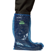 LD Polyethylene Boot Covers - Waterpoof - 500mm - Blue