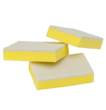Light Duty Sponge Scourer - 100mm x 150mm x 30mm